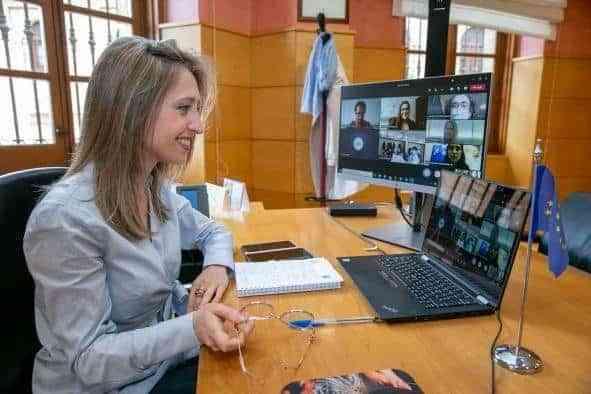 Castilla-La Mancha muestra el trabajo de la Oficina en Bruselas al alumnado de varios centros de la región