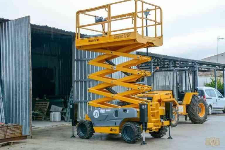 Una carretilla elevadora fue adquirida para el servicio de Obras de Tomelloso