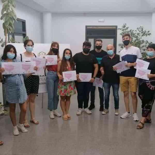 Programa PICE en Tomelloso ha formado a 8 jóvenes en inglés y marketing digital
