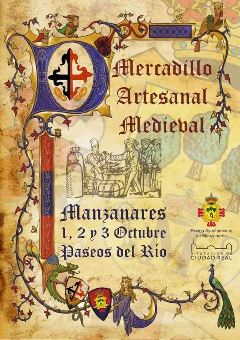 Un mercadillo medieval en los Paseos del Río de Manzanares este fin de semana
