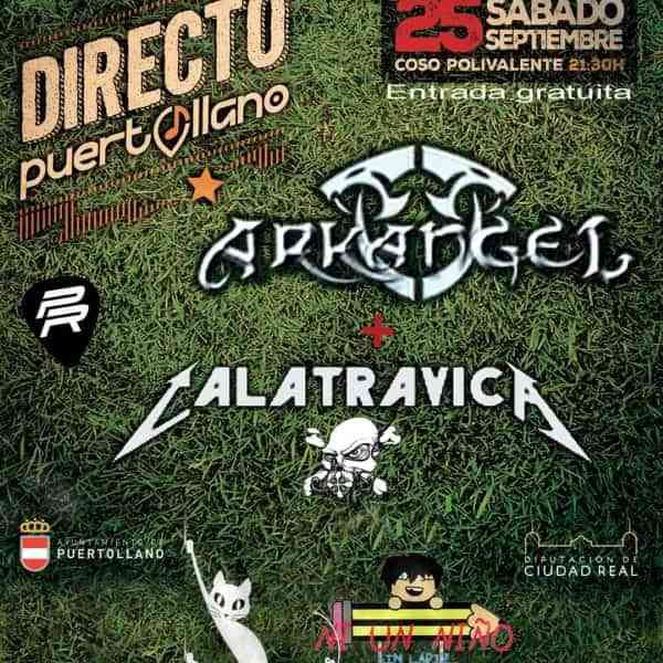 «Puertollano Directo» finaliza este sábado con conciertos de Calatrávica y Arkángel